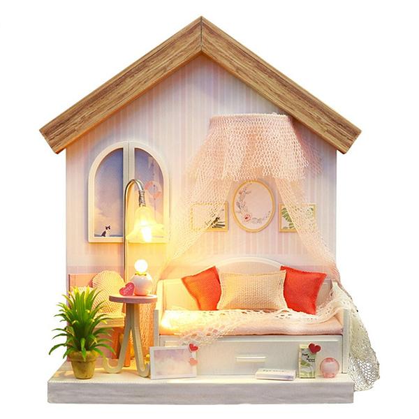 Warm Photo Frame Series Miniature Room Kit