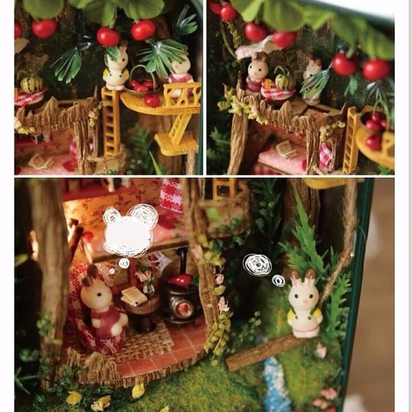 Forest Rhapsody Box Theatre DollHouse
