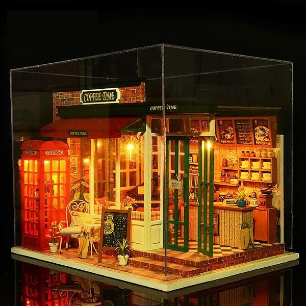 Coffee Time DIY 3D Miniature Kit