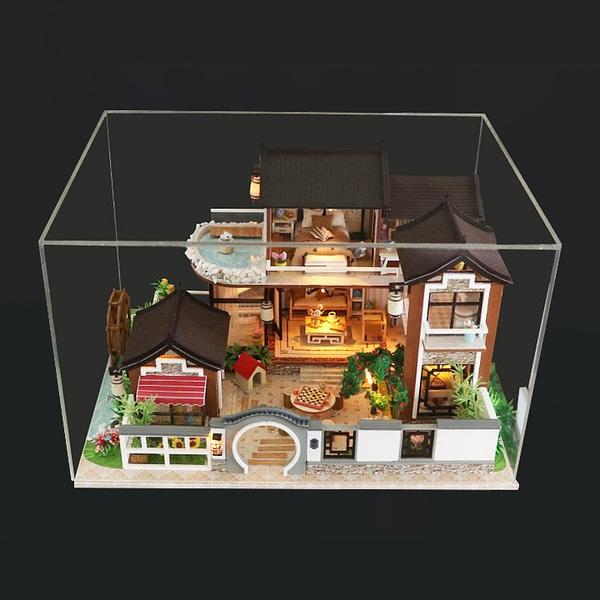Ancient Town DIY 3D Miniature Dollhouse Kit