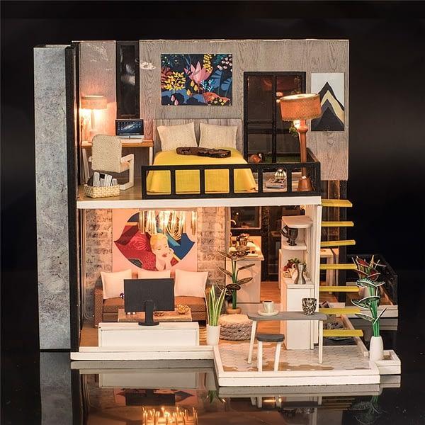 September Forest DIY 3D Miniature House Kit (Doll house)