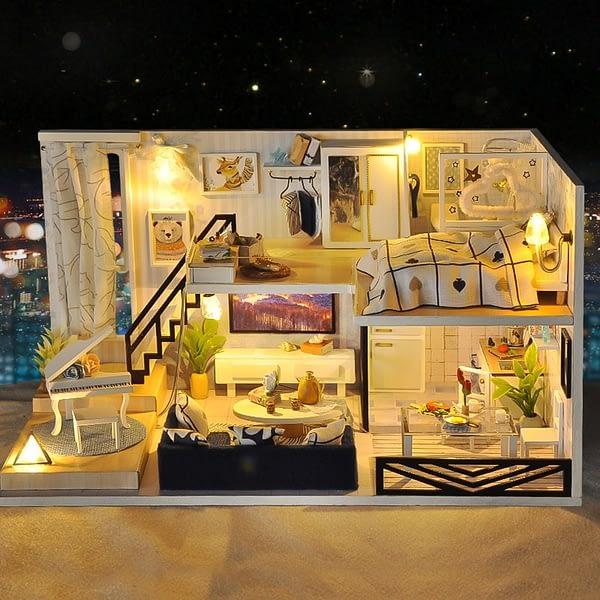 Shadow of Time DIY 3D Miniature Loft Kit