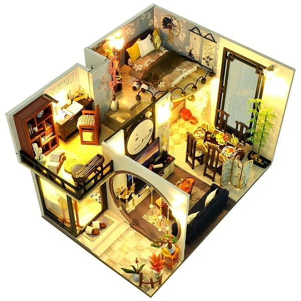 Bamboo Shadow DIY 3D Miniature House Kit