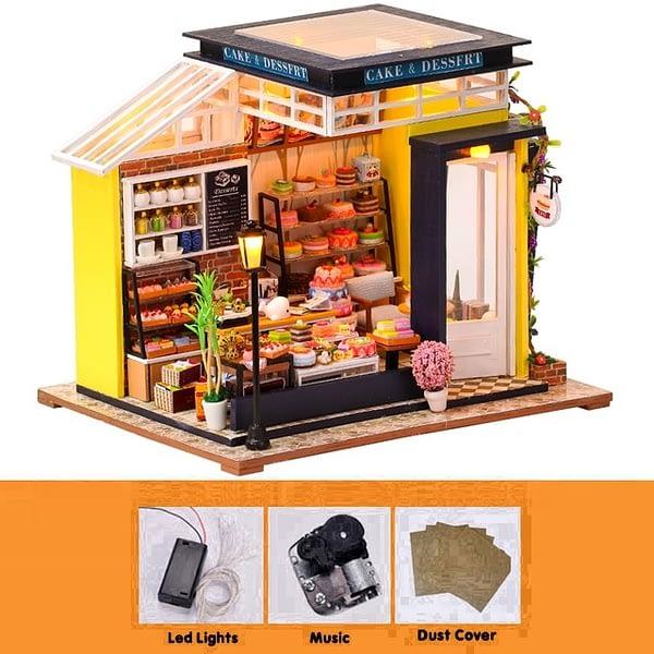 Cake House DIY Miniature Store Kit
