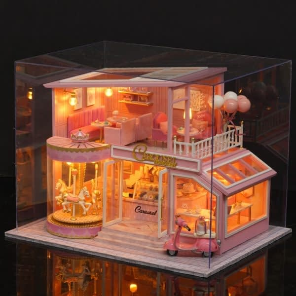 Childhood Memory DIY 3D Miniature Dollhouse Kit