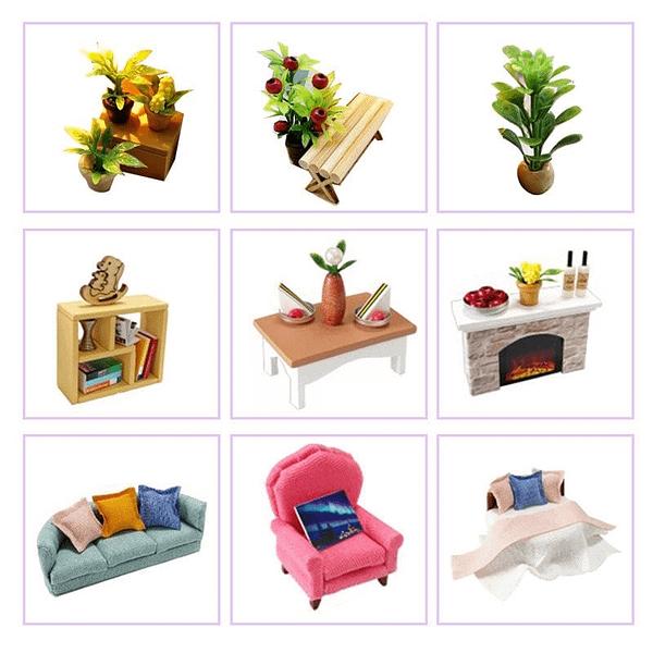Rest Time DIY 3D Dollhouse Kit