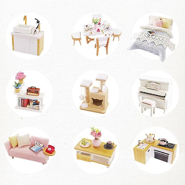 Glaze Time DIY Miniature Beautiful Villa Kit - L2001A