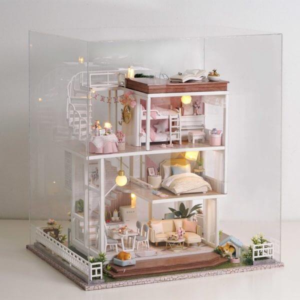 Home Sweet Home DIY 3D Miniature Dollhouse