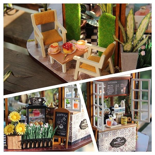 Garden Cafe DIY Miniature Kit - GD01A