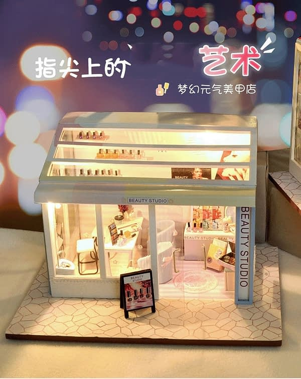 Beauty Shop DIY Miniature Store Kit