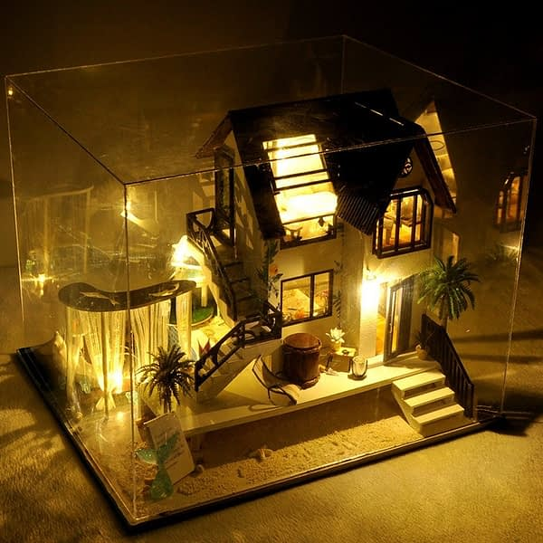 Confession Villa DIY Miniature Villa Kit