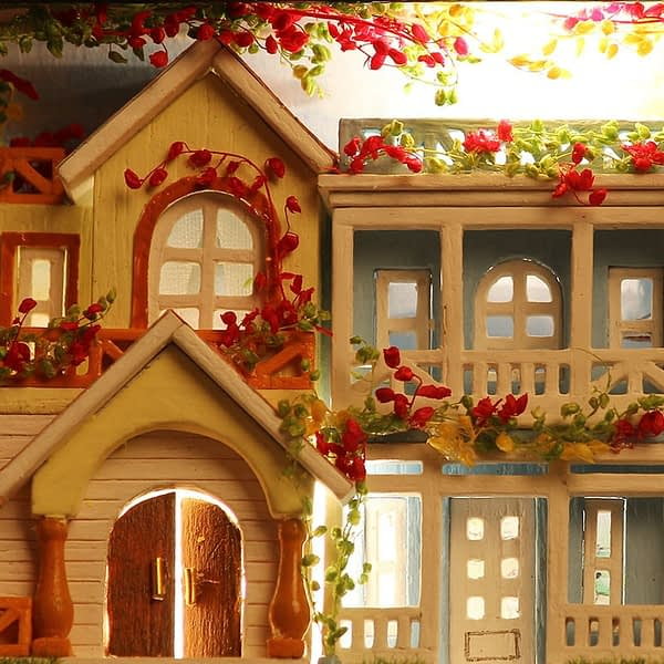 Assembly of Happiness Box Theatre DIY Dollhouse