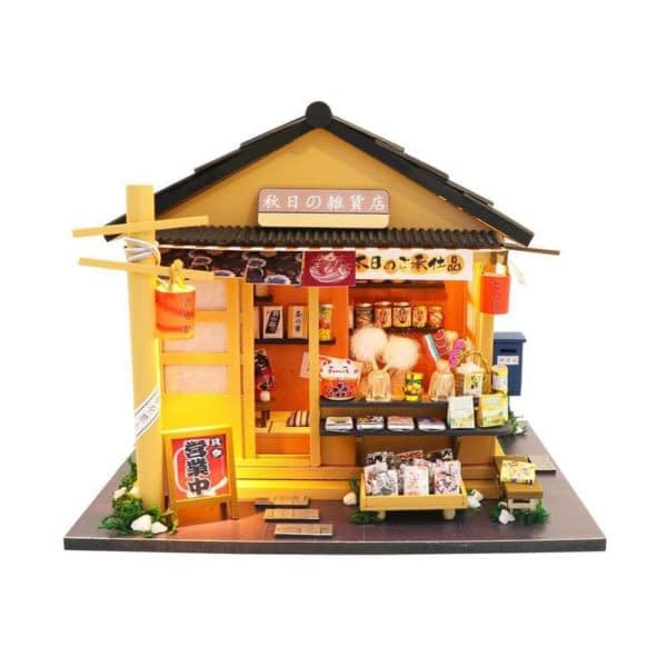 Japanese Grocery Store DIY 3D Dollhouse
