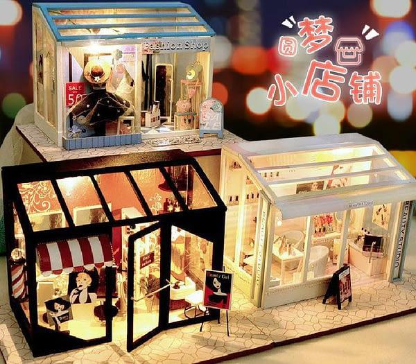 Fashion Shop DIY Miniature Boutique Kit (Manicure shop)